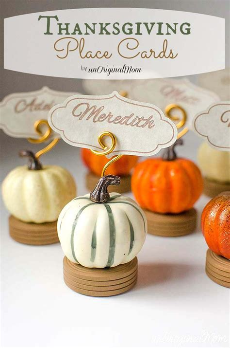 Thanksgiving Place Card Holder Templates by Best 25 Thanksgiving Name Cards Ideas On Diy