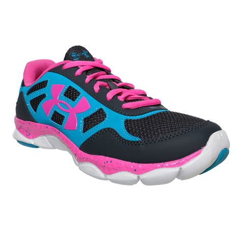 under armoir shoes under armour micro g eng girl s training shoe black teal ice