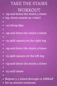 Stair Drills by Take The Stairs Workout Creating A Better Tomorrow