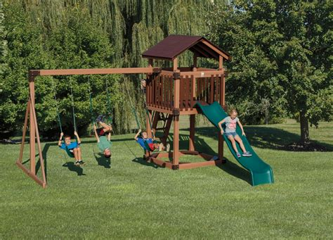 backyard discovery tucson cedar swing set childrens swing set gorilla playsets double smoby swingset playhouse amazoncom backyard