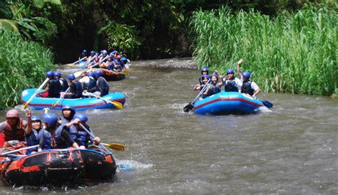 bali activities tours and activities in bali sobek telaga waja river rafting bali activities tours in