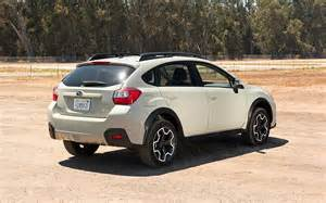 Subaru Crosstrek Suspension 2013 Subaru Xv Crosstrek 2 0i Premium Rear Three Quarters