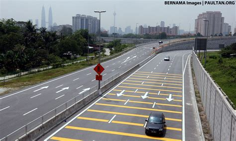 new year road closure malaysia sentul pasar toll plaza lay by to be temporarily closed