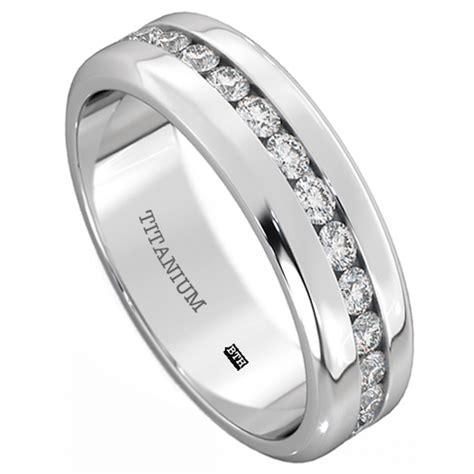 mens titanium 6mm wide classic unisex wedding engagement