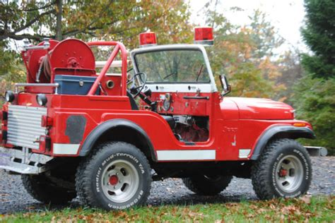 jeep brush truck 1974 jeep cj 5 truck brush truck jeep cj