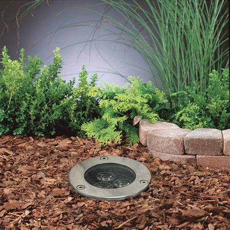 In Ground Landscape Lighting Led In Ground Well Light 3 X 1w High Power Leds Led