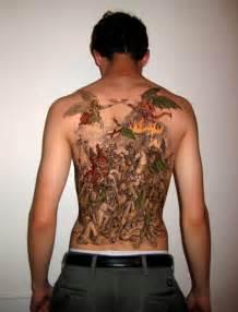 30 unbelievable demon tattoos creativefan