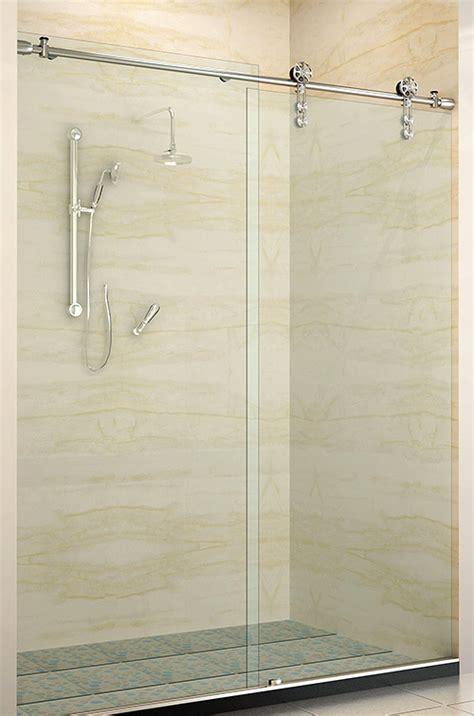 bathroom glass sliding shower doors showerhaus sliding glass shower doors