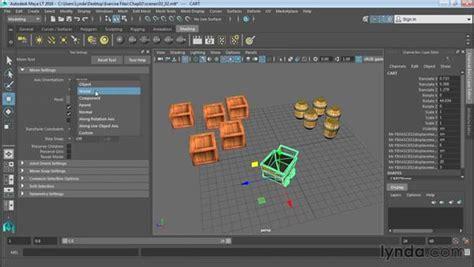 reset move tool maya using the move tool