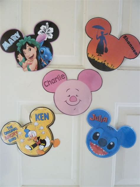 each of us picked out our favorite disney character to decorate our cabin door my best tips