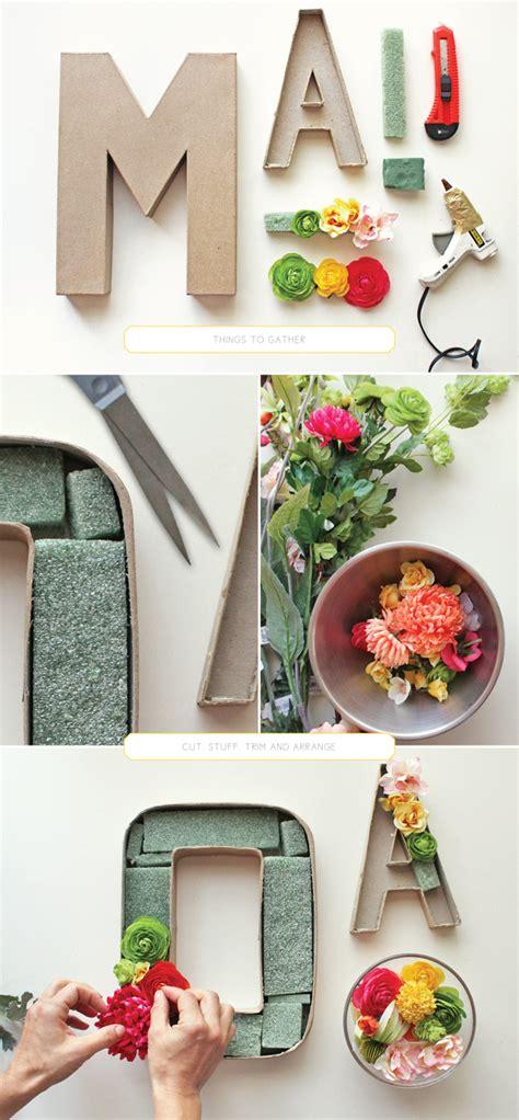 Bloomen Flowers Diy by Blooming Monogram Diy Vylette