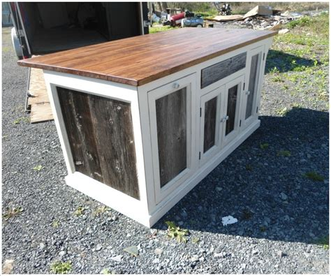 barnwood kitchen island custom kitchen island with old barn wood