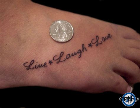 live love life tattoo designs live laugh picture