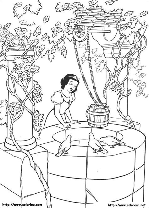 imagenes para colorear blanca nieves dibujos para colorear de blancanieves y los siete enanitos