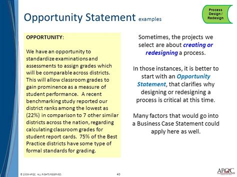 Opportunity Statement Template 30 statement sles opportunity statement template 28