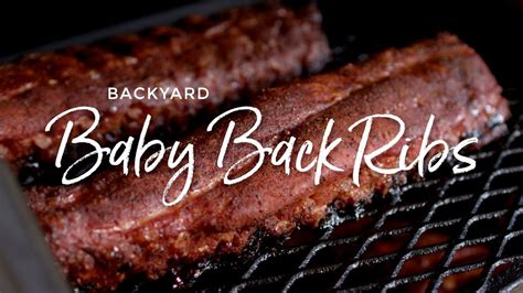 backyard baby back ribs backyard baby back ribs i love grill