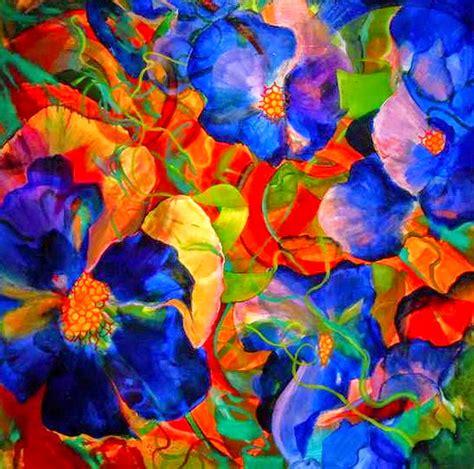 imagenes de flores abstractas im 225 genes arte pinturas flores de olores brillantes