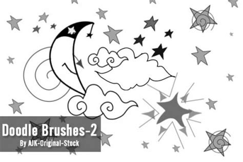 doodle brushes doodle brushes for photoshop 500 designs