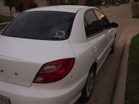 2002 Kia Gas Mileage Sell Used 2002 Kia Base Sedan 4 Door 1 5l White Great