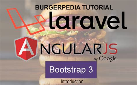 tutorial bootstrap laravel 5 burgerpedia a complete laravel 5 and angularjs tutorial