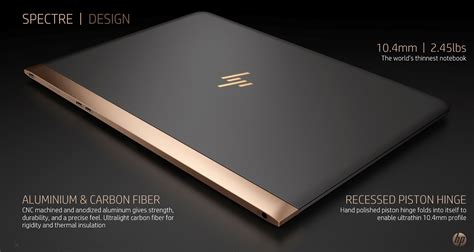 hp spectre 13 best buy hp spectre 13 flagship notebook and new logo announced