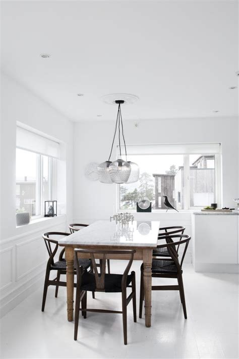 Best Kitchen Table And Chairs Best 25 Scandinavian Dining Table Ideas On For Amazing House Black And White Kitchen