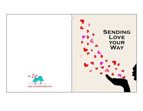 printable birthday cards for my love 9 best images of free printable love greeting cards free