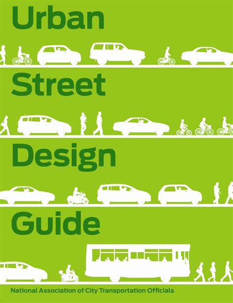 home design guide sidewalks national association of city transportation