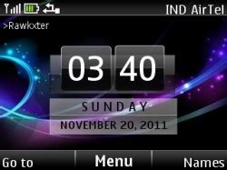 clock themes for mobile phones download free lumia clock s40 mobile phone theme 799