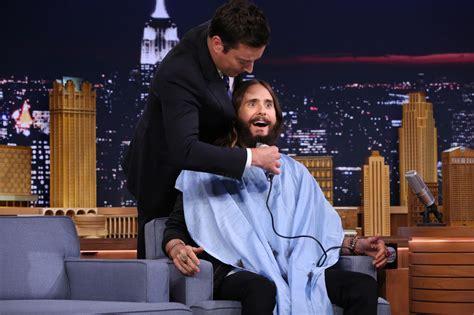 list of the tonight show starring jimmy fallon episodes the tonight show jimmy fallon shaves jared leto s beard