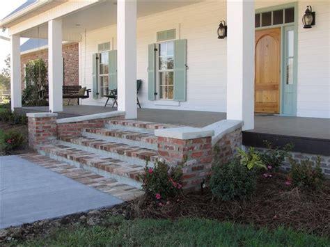 Brick Front Veranda Schritte by 25 Best Ideas About Brick Porch On Front