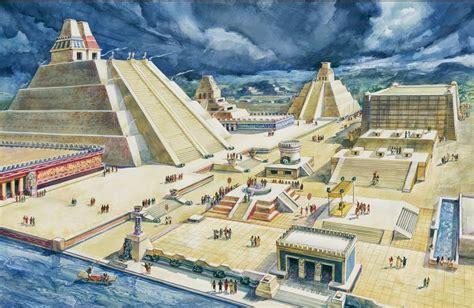 imagenes arquitectura azteca cultura azteca