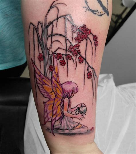 rose and fairy tattoo 75 charming tattoos designs a timeless and