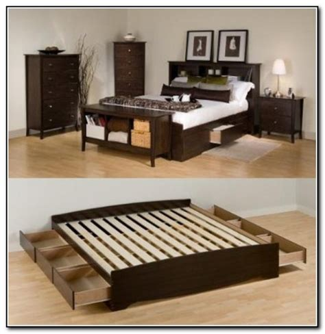 diy king bed frame with storage diy king size storage bed beds home design ideas