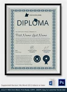 certificate template illustrator diploma certificate template 25 free word pdf psd