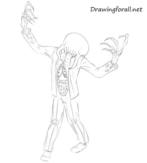 zombie drawing tutorial how to draw zombie from half life drawingforall net