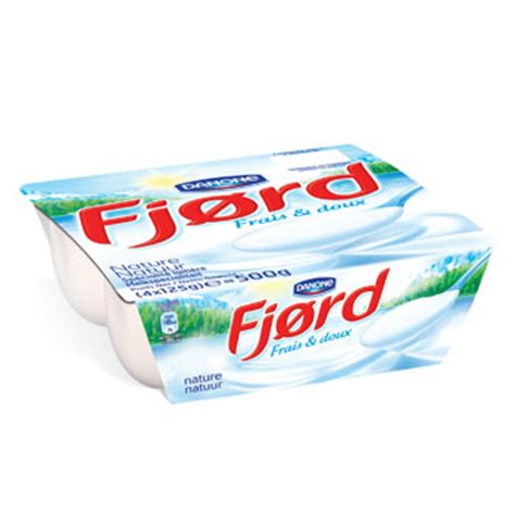 fjord yaourt composition fjord nature danone 4x125g drive auchan beaumont 2