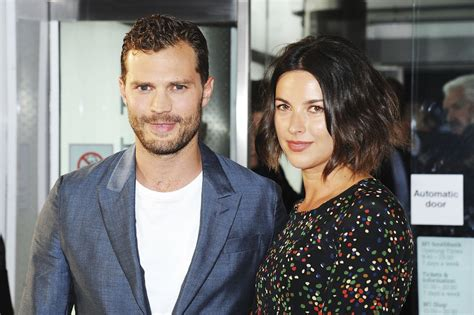 jamie dornan real voice jamie dornan and his wife at anthropoid uk premiere 2016