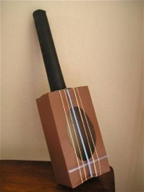 Make A Paper Guitar - top 21 musical instrument crafts for your