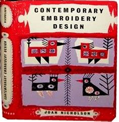 contemporary embroidery design joan nicholson 46 best books brighton hove images on pinterest