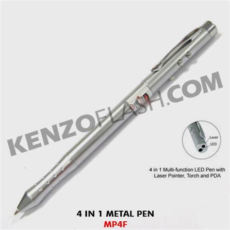 Souvenir Promosi Logo Universal Multi Fungsi pen multifungsi pen laser 4 fungsi mp4f