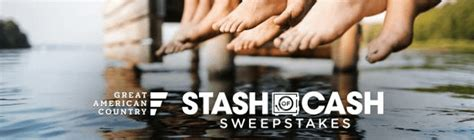 Great American Country Sweepstakes 2017 - great american country s stash of cash sweepstakes 2017 enter now