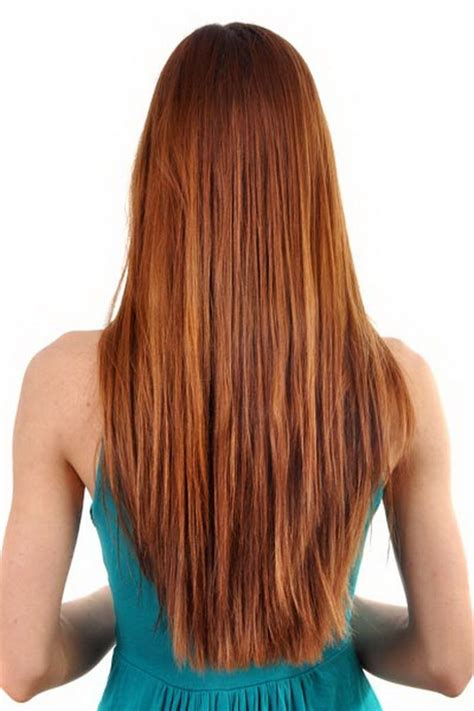shaping back of hair to flipin with a layer cut long layered v shaped haircut