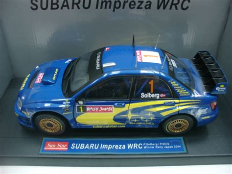 rare subaru models wow extremely rare subaru impreza wrc solberg japan 2004 1