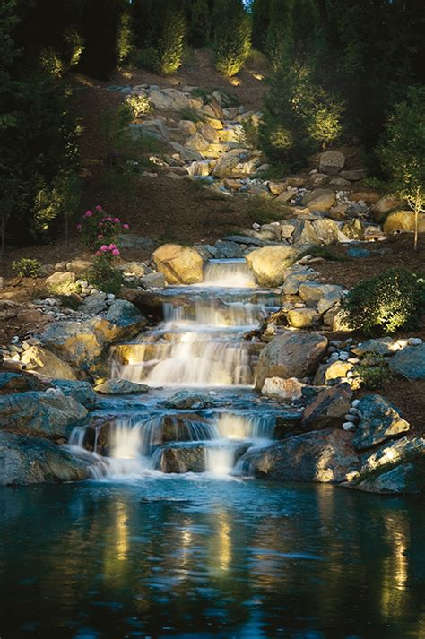 Underwater Landscape Lighting 6 Principles Of Lighting Water Features