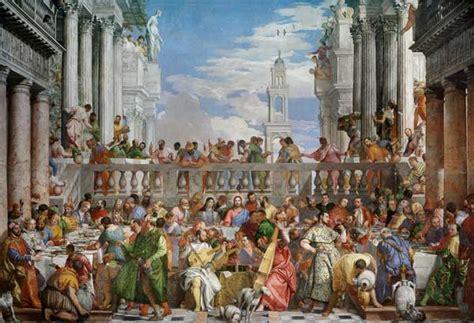 Veronese Wedding At Cana Analysis by Les Noces De Cana Peinture Huile Sur Toile De V 233 Ronese