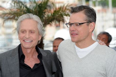 michael douglas matt damon eye for matt damon michael douglas and steven