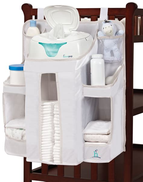 changing table hanging caddy amazon com badger basket modern changing table with 3