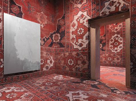 comart tappeti rudolf stingel covers palazzo grassi s interior in carpet