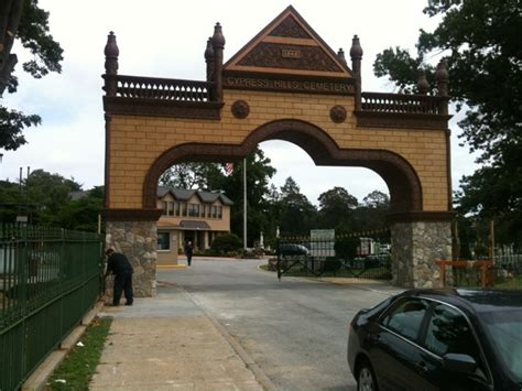 cypress hill design and build cypress hills cemetery entrance vitale building company